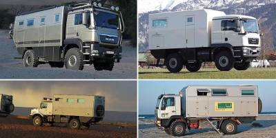 Abenteuer & Allrad: Австрийцы покажут на выставке сразу 4 люксовых автодома
