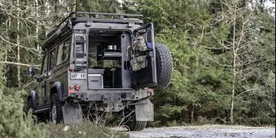 Abenteuer & Allrad: Шведская начинка превращает Defender 110 в походное жилище
