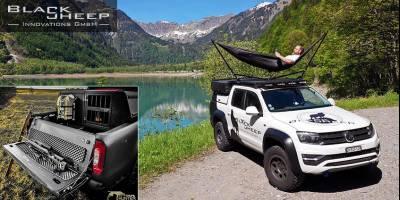 Abenteuer & Allrad: Black Sheep Innovations оборудует в вашей машине и гамак, и «тайник» для оружия