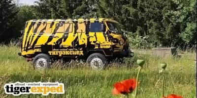 Abenteuer & Allrad: Немцы покажут на выставке «Буханку-Тигра»