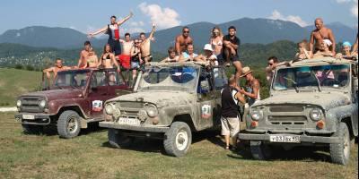 В Крыму зашатался бизнес на катании туристов на джипах и квардоциклах