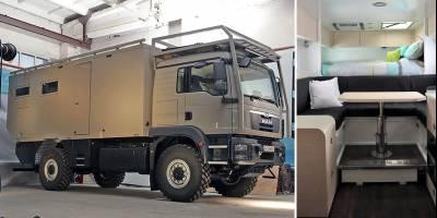 Новый автодом MAN от Krug Expedition любую воду превратит в питьевую