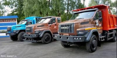 Уралы-NEXT едут по Челябинской области в честь 75-летнего юбилея первого грузовика завода