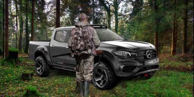 Mercedes X-class оборудовали и украсили «по-охотничьи»
