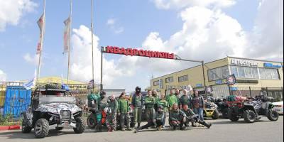 Экспедиция на квадроциклах «Дорога домой» длиной 1200 км стартовала в Санкт-Петербурге