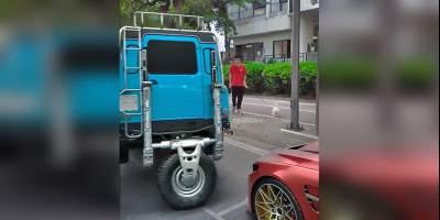 Китайский лайфхак: припаркуй длинный Деф за 10 секунд
