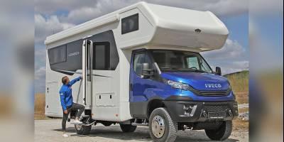 Именитый производитель автодомов выпустил кемпер на базе Iveco Daily 4x4