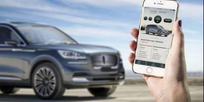 Ключом к внедорожнику Lincoln Aviator нового поколения станет смартфон