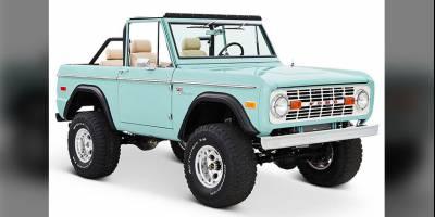 Мастерская Classic Ford Broncos превращает старые Bronco в новые за очень большие деньги