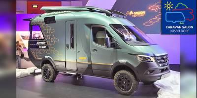 В Германии открылась грандиозная выставка автодомов Caravan Salon 2019