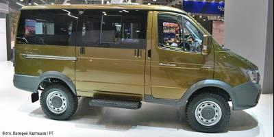 Автомобилистов подразнили прототипом нового ГАЗ «Соболь 4×4»