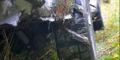 Самодельные внедорожные шины испытали в грязи «Жигулями-четверкой»