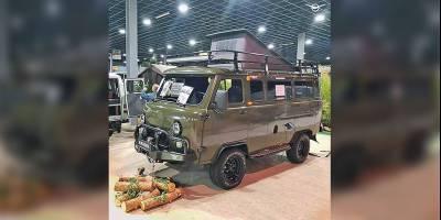 Кемперы из «Буханок» от нидерландского партнера УАЗ раскупили прямо на выставке