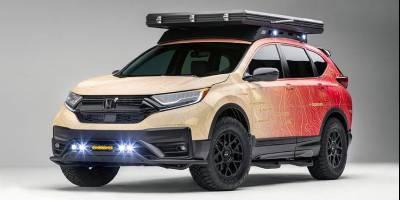 Honda на тюнинг-шоу SEMA покажет «Мечту» для выездов на природу