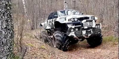 Канадцев восхитил «русский монстр», слепленный из ГАЗ-66 и «Бумера»