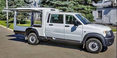 «Почти кемпер»: УАЗ испытывает новый вид кузова для «Профи»