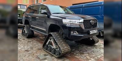 Переобулся: зимний «Крузак» испытали на петербургских улицах