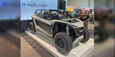 600-сильный электробагги Nikola NZT 4WD представили на выставке SEMA