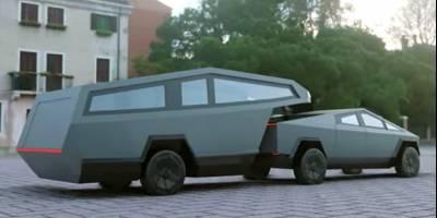Трейлер в стилистике Cybertruck построят по заказу известного в США блогера-автопутешественника