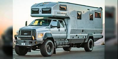 В компании EarthRoamer строят шикарные автодома «всего-то» за 1,7 млн USD