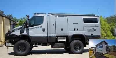 Автодом «Белый Носорог» из Австралии получил «умную» модификацию