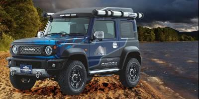 Suzuki на токийском автосалоне покажет Jimny для рыбаков