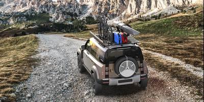 В ЮАР уже сделали модульный багажник для нового «Дефендера»