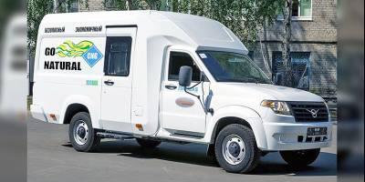 УАЗ представил пятиместный универсальный «Профи» на газу