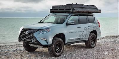 Lexus GX подготовили к путешествиям по канадскому бездорожью