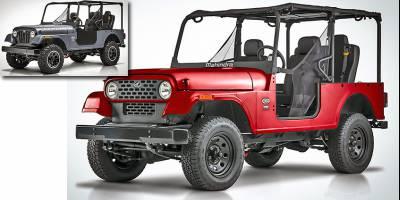 Mahindra сдалась в битве с Jeep и изменила «лицо» Roxor