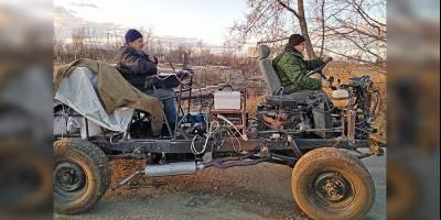 В Кургане придумали идеальную трансмиссию для тихоходных вездеходов
