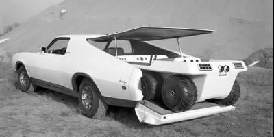 Купе с вездеходом в багажнике осталось лишь забавным концептом от Ford из прошлого