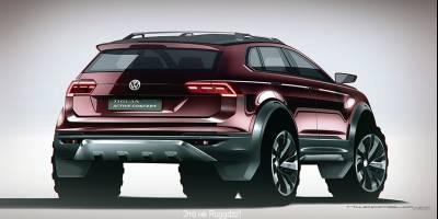 Внедорожник Volkswagen Ruggdzz поведёт за собой другие модели