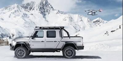 Brabus превратил Mercedes-AMG G-Klass в 800-сильный пикап c полуметровым клиренсом