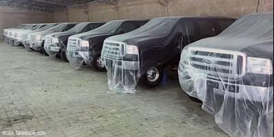 В Эмиратах найден автомобильный «клад» – десяток Ford Excursion с нулевым пробегом