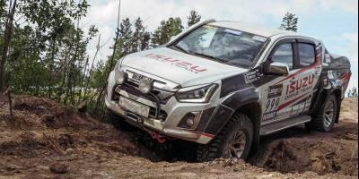 В России начинаются продажи пикапа Isuzu D-Max в версии для бездорожья