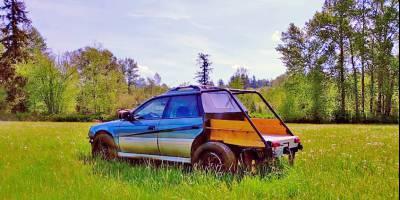 Полноприводный универсал Subaru Outback превратили в весьма странный пикап