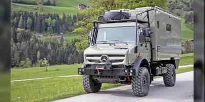 В Австрии построили компактный автодом из «Унимога»