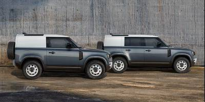 Утилитарные версии Land Rover Defender выйдут в этом году, но не для России