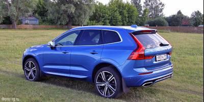Volvo отзывает кроссоверы XC60 и XC70 из-за дефекта ремней безопасности
