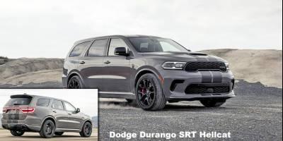 Dodge обновил Durango и добавил ему 720-сильную версию SRT Hellcat