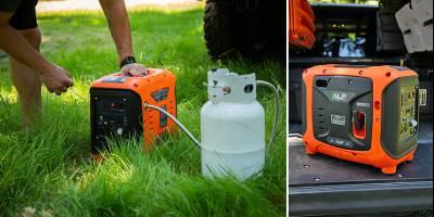В США выпустили портативный пропановый электрогенератор. Автотуристы оценят
