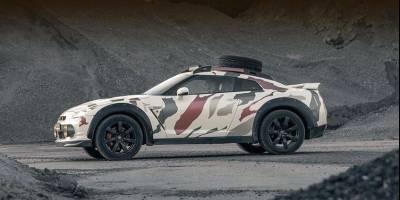 Голландцы попытались превратить спорткар Nissan GT-R во внедорожник. Хотя бы внешне