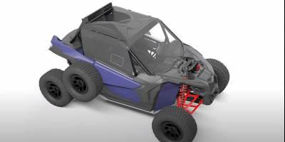 Сергей Карякин показал багги-конструктор, разработанный для серьёзных автоспортсменов