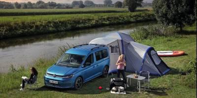 Volkswagen выпустил новую версию кемпера на базе Caddy