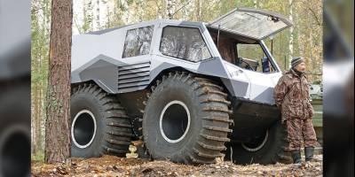 Создатель всемирно известного «Шерпа» запатентовал новую модель AG 20