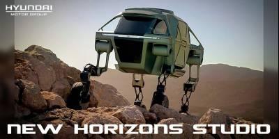 Компания Huyndai вплотную занялась разработкой сверхмобильного вездеходного транспорта