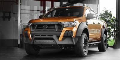 Студия Carlex Design представила комплект «украшений» для Ford Ranger