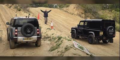 «Битва титанов»: Новый Land Rover Defender против классического