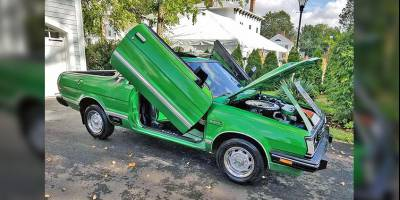 Subaru BRAT GL: Пикап «для пикников» цвета молодой травы продают в США